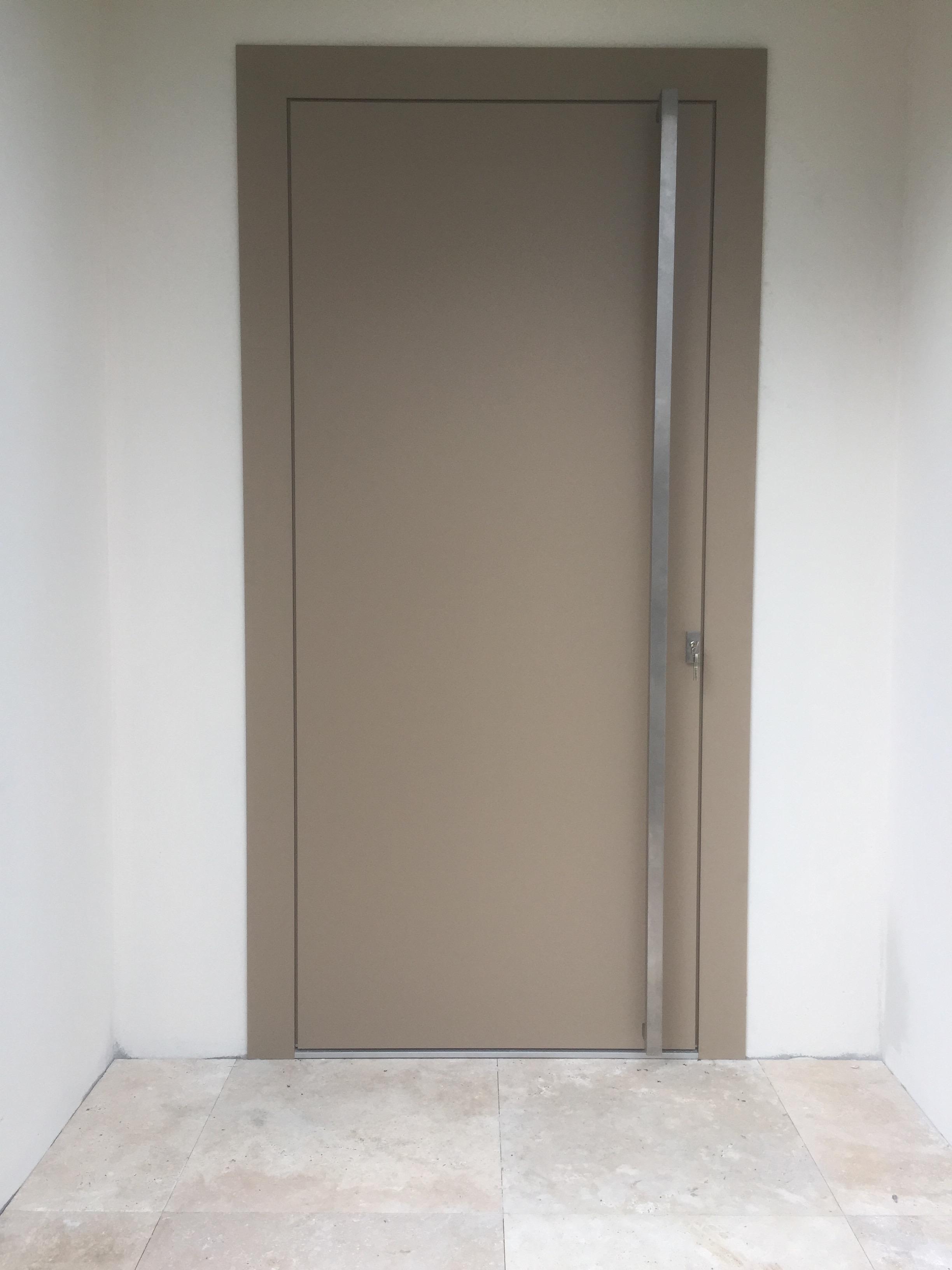 pose porte d 39 entr e aluminium cannes belimed menuiseries exterieures 06. Black Bedroom Furniture Sets. Home Design Ideas